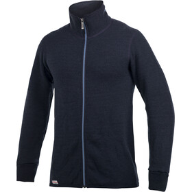 Woolpower 400 Colour Collection Full Zip Jacket Unisex dark navy/nordic blue